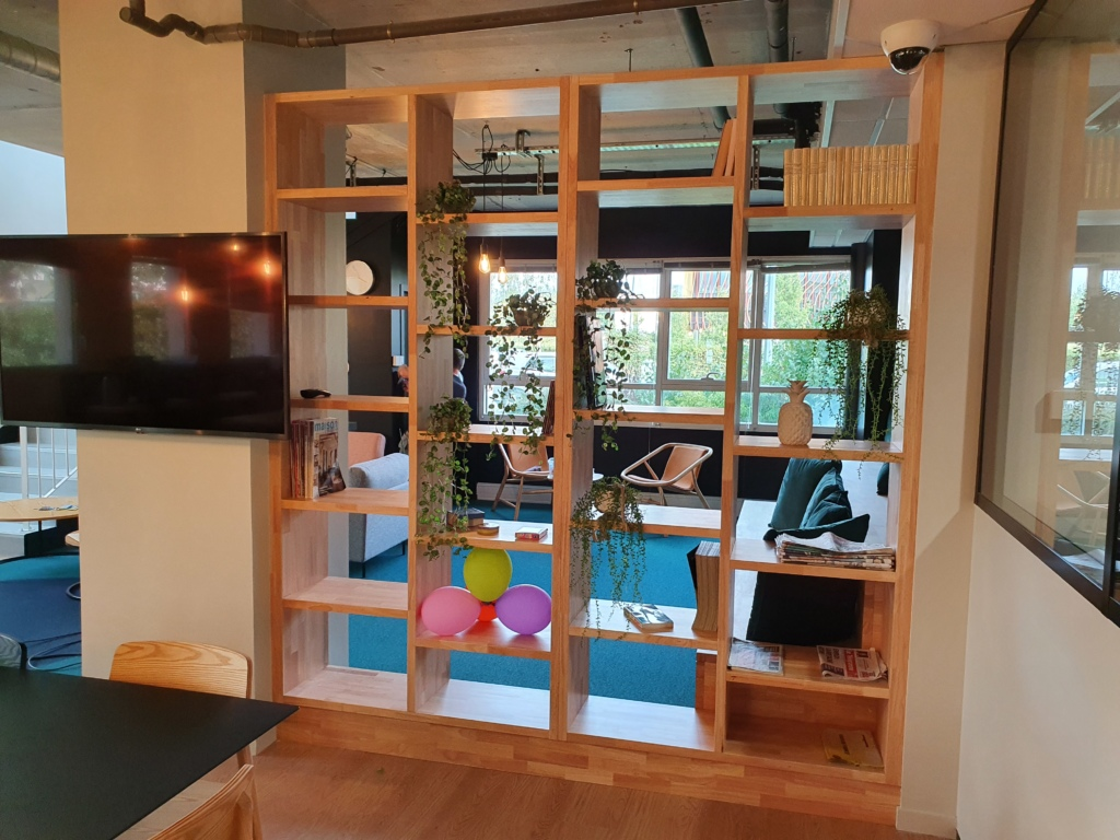 Mobilier NR Biblioth�que Lam�ll� Coll�